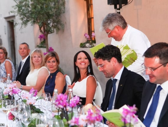 Exclusive open air dinner at the Gastliche Tafel (convivial table)