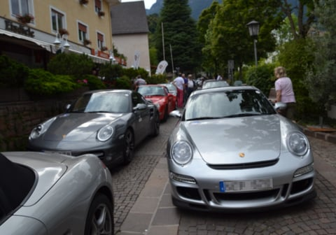 The Porsche Club Alpetour 2015 in Eppan
