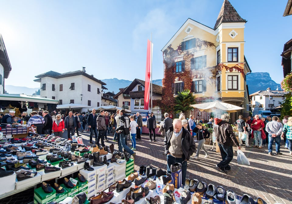 Der Martinimarkt in Girlan | Eppan